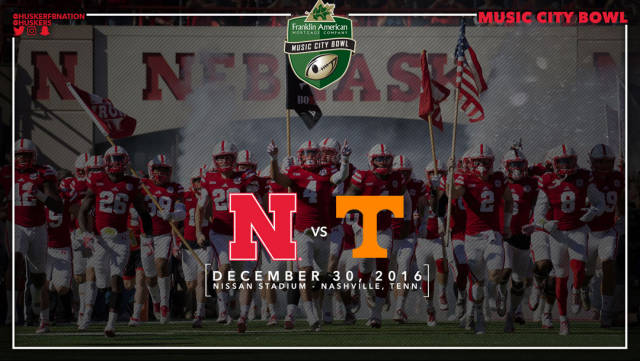 Nebraska vs Tennessee poster